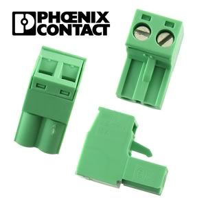 (Pkg 5) Phoenix Contact MSTB-2.5/2-ST-5.08 2 Contact Pluggable Terminal Block