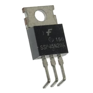 (Pkg 2) Fairchild SSP45N20A 200V 35Amp N-Channel Mosfet