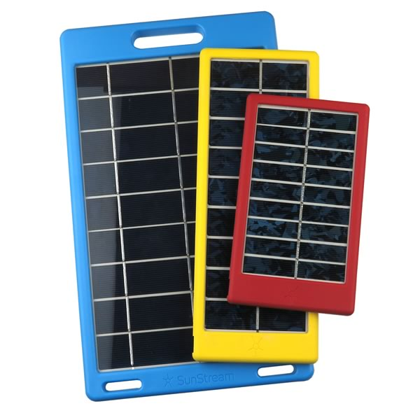 Assortment of 3 USB Solar Panels