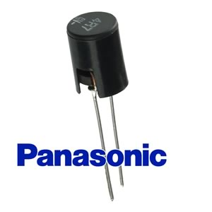 (Pkg 10) Panasonic 4.7 Microhenry Ferrite Core Radial Inductor