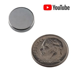 Powerful 12mm x 3mm N52 NdFeB Rare Earth Super Magnet