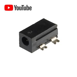 (Pkg 10) Motorola 0909350J02 SMT Power Jack For 2mm Plug