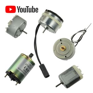 Our Best DC Motor Assortment
