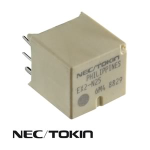 NEC/Tokin EX2-N25 12VDC Automotive Dual Relay