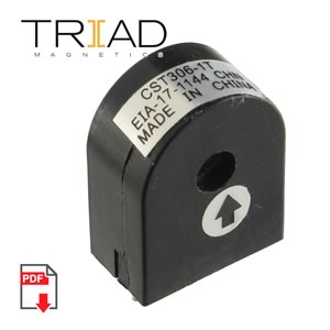 Triad CST306-1T Current Sense 3.5mH 50 Turns Count