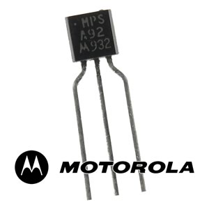 (Pkg 10) Motorola MPSA92 PNP High Voltage 300V Transistor