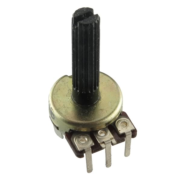 (Pkg 2) Linear Taper 50KΩ Potentiometer