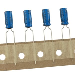 (Pkg 20) Compact 4.7uF 63V Radial Electrolytic Capacitor