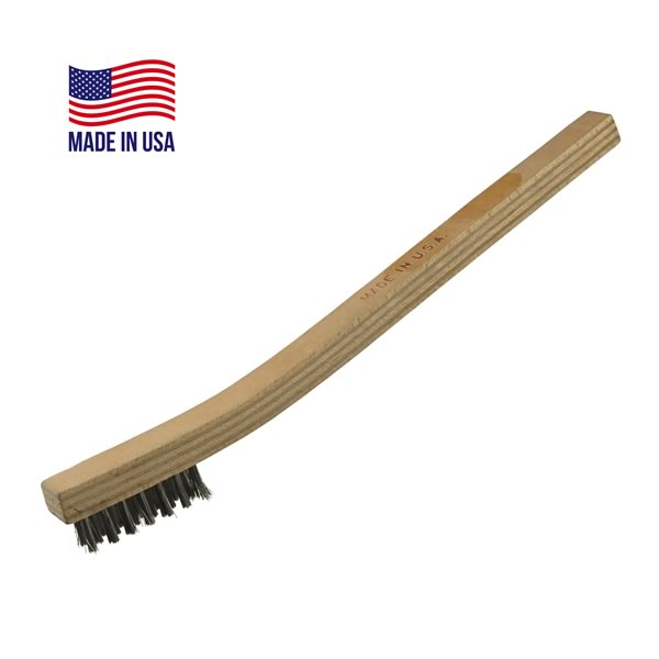 Stainless Steel Wooden Handle Wire Brush