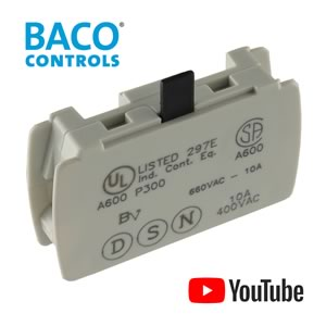 Baco Controls 23E01 Normally Closed 660VAC 10Amp