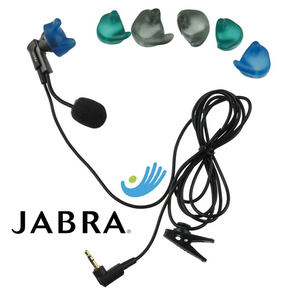 Jabra EarBoom Headset with 2.5mm Jack