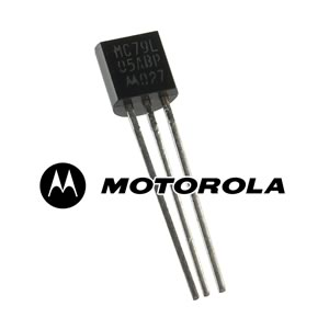 (Pkg 4) Motorola MC79L05ABP Negative 5V 100mA Voltage Regulator