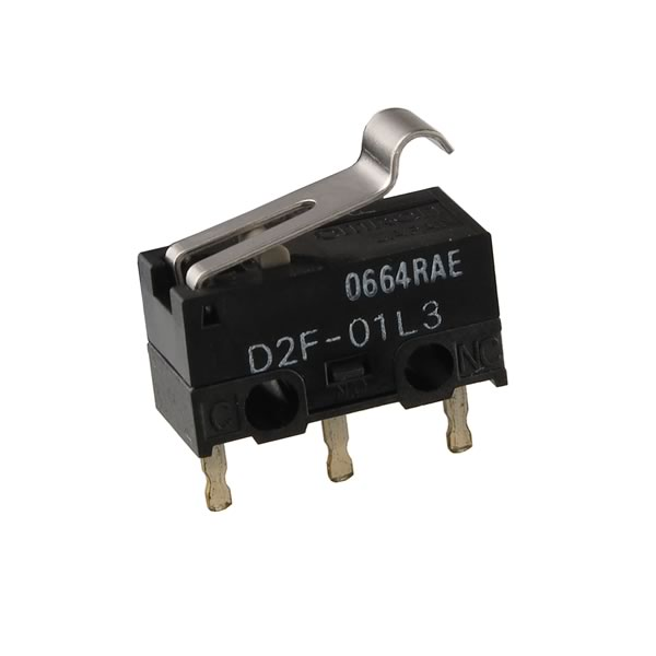 Omrom D2F-01L3 Small Snap Action Switch