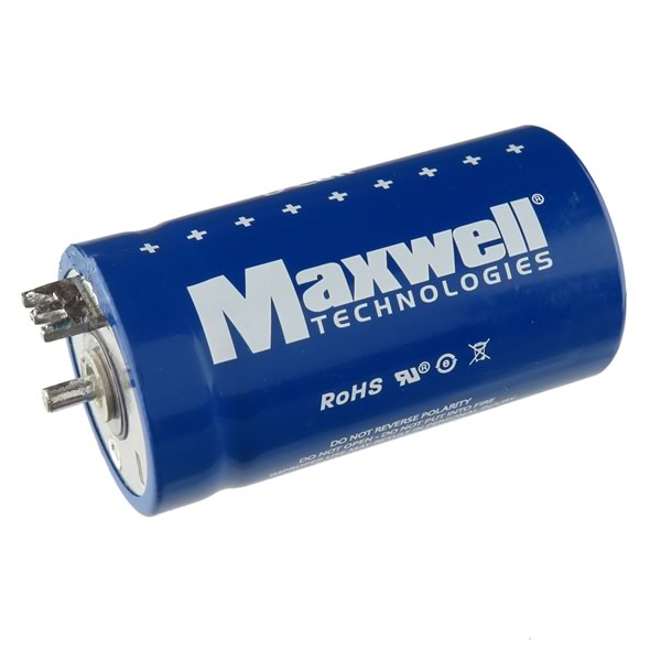 (Pkg 2) Maxwell 310 Farads 2.7VDC D Cell® Supercapacitor