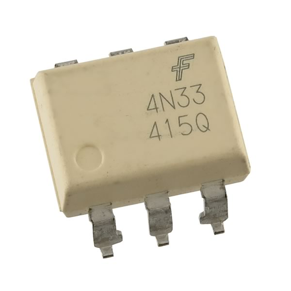 (Pkg 4) Fairchild 4N33 Opto Isolator SMD Mounting