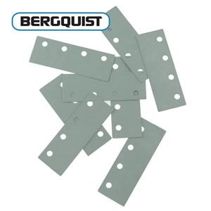 (Pkg 10) Bergquist Thermal Sil-Pad® K-6 for 4 TO-220 Devices