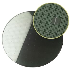 Beautiful 200mm Silicon Wafer
