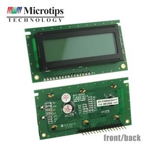Microtips MTC-S16204A 16 x 2 Character LCD Display Module