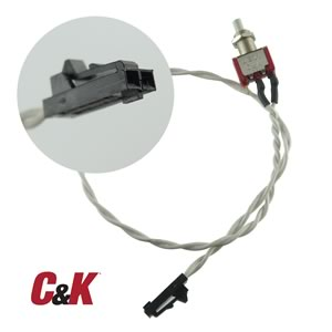 C&K U811 Panel Mount Pushbutton Switch SPDT Momentary Contact