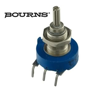Bourns 3856H-AB7-252A 2.5K Linear Taper Panel Mount Potentiometer