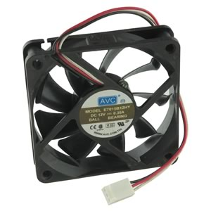 AVC Model E7015B12HY 12VDC 0.35A 70mm Fan