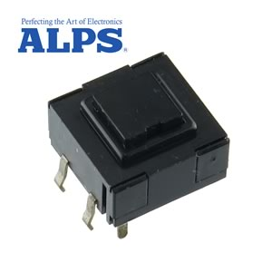 (Pkg 20) Alps Compact Pushbutton SPDT Keyboard Switch