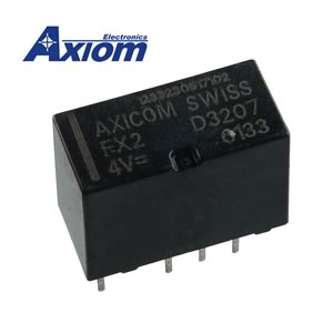 CLEARANCE! Axicom FX2 D3207 DPDT 2Amp 4VDC Relay