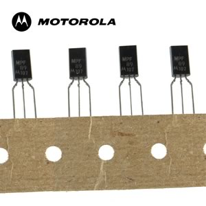 (Pkg 5) Motorola MPF89 N-Channel FET with Diode