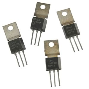 (Pkg 4) National LM320MP-12 0.5Amp (-) 12VDC Negative Regulators