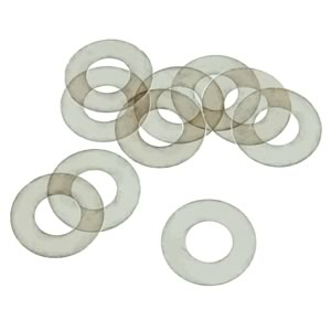 (Pkg 10) High Voltage Mica Insulating Washer