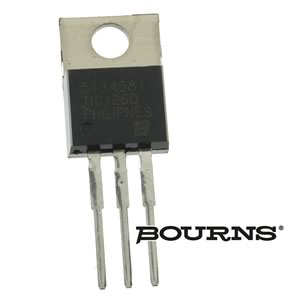 Bourns TIC126D - 400V 12Amp Silicon Controlled Rectifier