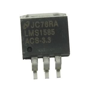 National LMS 1585ACS-3.3 +3.3VDC 5Amp Voltage Regulator