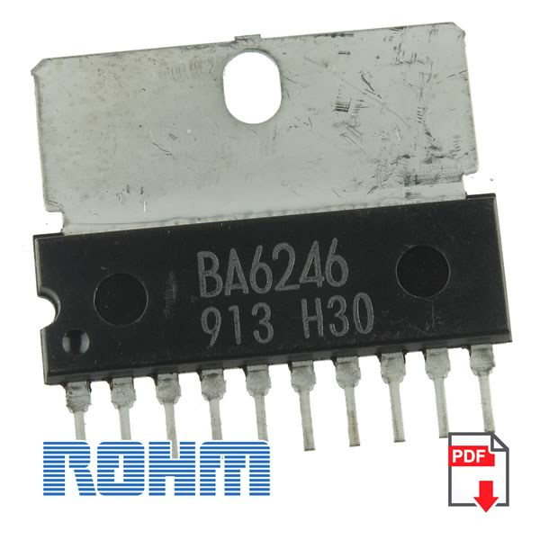 BA6246 Reversible Motor Drivers for 2 Motors