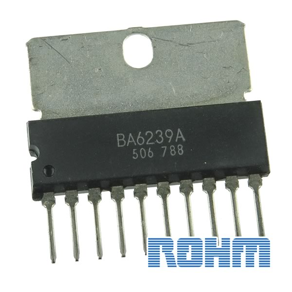 Rohm BA6239A Dual Reversible-Motor Drivers Monolithic IC