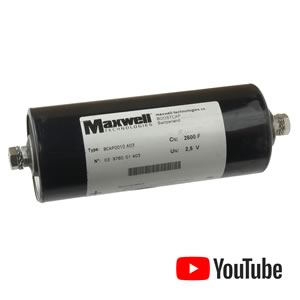 Maxwell 2600 Farad 2.5V Boostcap (Used)