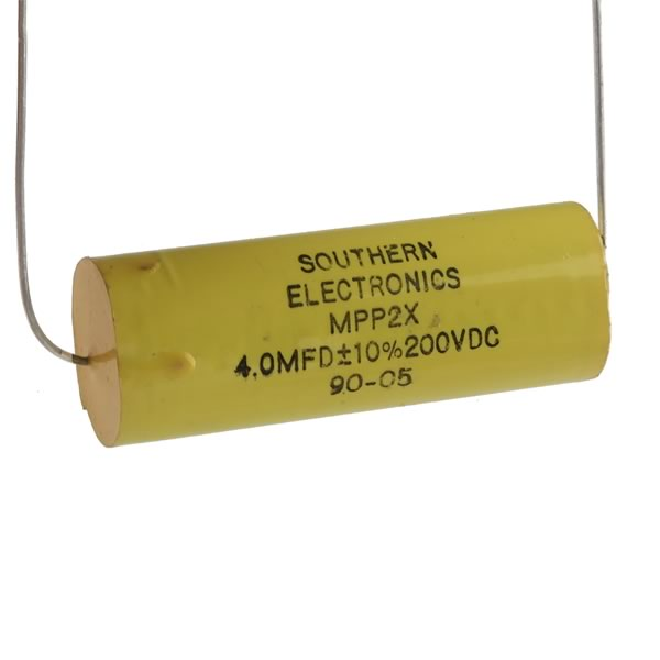 Southern Electronics 4.0MFD 200VDC Film Capacitor MPP2X
