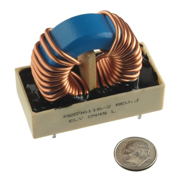ELY Massive Toroid Dual Inductor Assembly 1.34mH