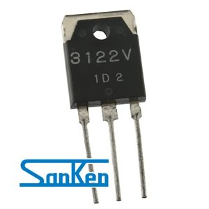 Sanken SI-3122V +12V 2Amp Low Dropout Voltage 3 Terminal Voltage Regulator