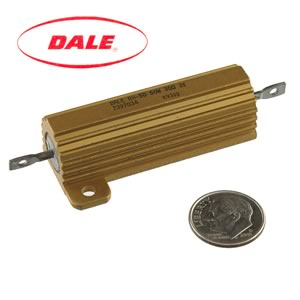 Dale RH-50 50Watt 35Ω 3% Aluminum Case Power Resistor