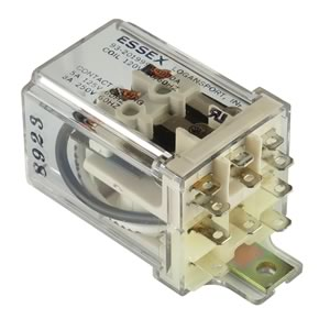 Essex High Quality 120VAC 60Hz Coil 3PDT Relay