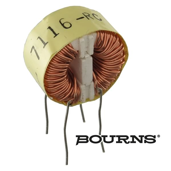Bourns 7116-RC 6.8mH 2Amp 2LN TH Common Mode Choke