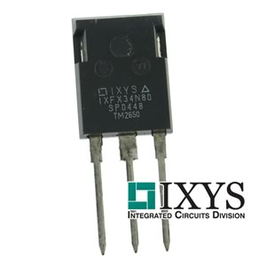 IXYS - IXFX34N80 - 800V 34Amp 560Watt Powerful N-Channel Mosfet