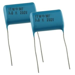 WEEKEND DEAL! (Pkg 2) ITW 3UF 200V Polyester Film Capacitor
