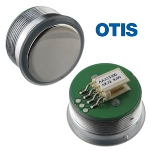 Otis Elevator Button (Switch) AAA23500AK32 Mirrored Stainless Steel