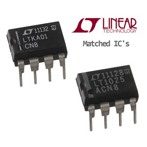 Linear Technology LTK001ACN8# PBF Thermocouple Cold Junction Compensator and Matching Amplifier