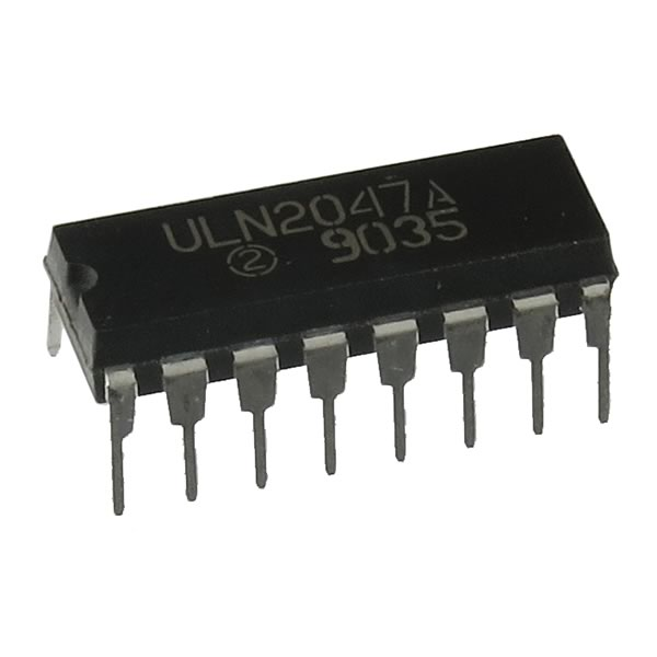 (Pkg 3) ULN2047A Three Differential Amplifier
