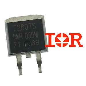 International Rectifier IRF2807S 75V 82Amp N-Channel Mosfet