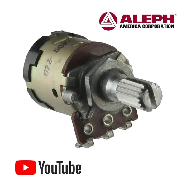 ALPS Unique 50K Audio Taper Potentiometer with DPDT Switch
