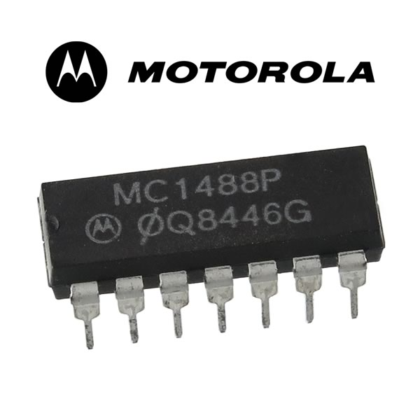 Motorola MC1488P Quad EIA-232D Interface IC