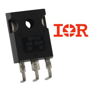 International Rectifier IRFP240 200V 20Amp N-Channel Mosfet with Formed Leads